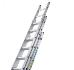 Zarges Class 1 Industrial Ladder, 3-Part