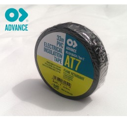Advance AT7 19mm x 33m PVC Tape - Black