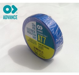 Advance AT7 19mm x 33m PVC Tape - Blue