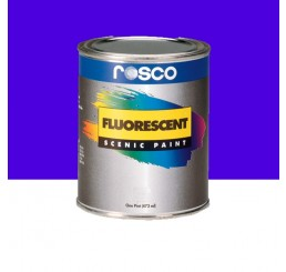 Rosco Fluorescent Paint Blue