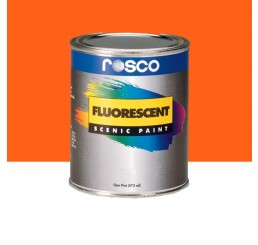 Rosco Fluorescent Paint Orange
