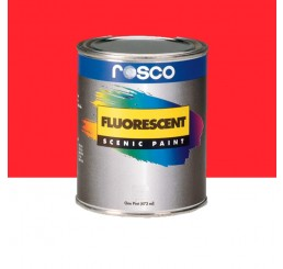 Rosco Fluorescent Paint Red