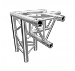 Global Truss F33 Standard 3 Way 90 Degree Corner L/H Apex Down