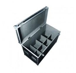 8 Par Can Flight Case