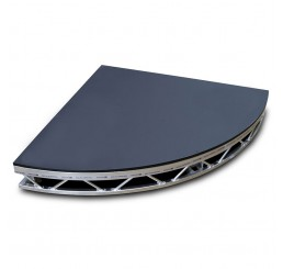 Spacedeck 6` x 6` Quadrant Aluminium Deck