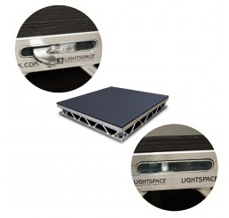 Spacedeck 4` x 4` Aluminium Deck with Rota Lock