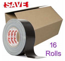 Magtape Original Black Gaffer Tape 50mm (16 Rolls)