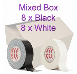 Magtape Original Black/White Gaffer Tape 50mm (16 Rolls)