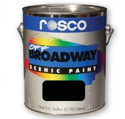 Rosco Off Broadway Black Paint