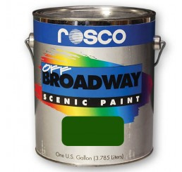 Rosco Off Broadway Chrome Oxide Green Paint 3.79L