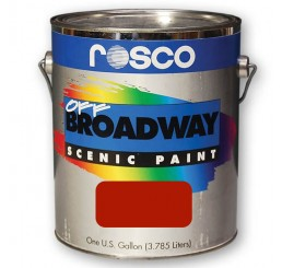 Rosco Off Broadway Deep Red Paint 3.79L