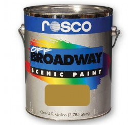Rosco Off Broadway Gold Paint