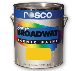 Rosco Off Broadway Golden Yellow Paint 3.79L