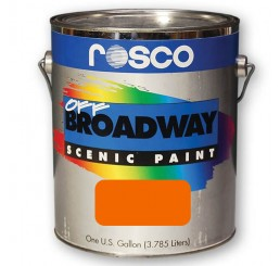 Rosco Off Broadway Orange Paint 3.79L