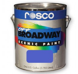 Rosco Off Broadway Pthalo Blue Paint 3.79L