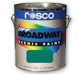 Rosco Off Broadway Pthalo Green Paint 3.79L