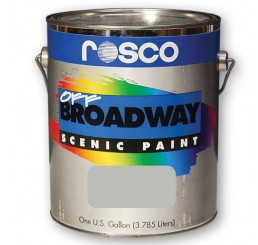 Rosco Off Broadway Silver Paint