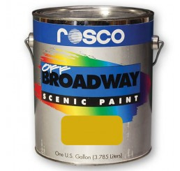 Rosco Off Broadway Yellow Ochre Paint 3.79L