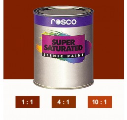 Rosco Supersaturated Burnt Sienna Paint