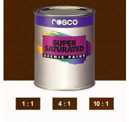 Rosco Supersaturated Burnt Umber Paint