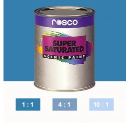 Rosco Supersaturated Cerulean Blue Paint