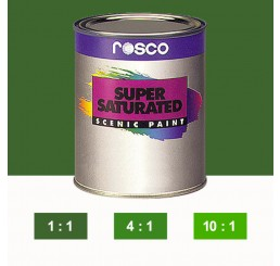 Rosco Supersaturated Grass Green Paint