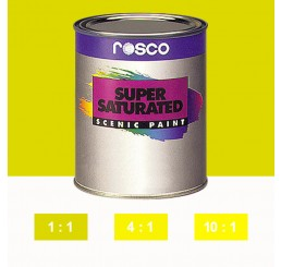 Rosco Supersaturated Lemon Yellow Paint