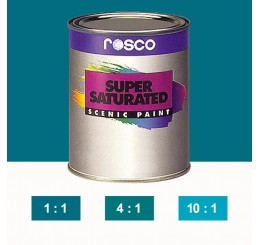 Rosco Supersaturated Turquoise Paint