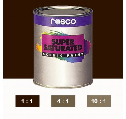 Rosco Supersaturated Van Dyke Brown Paint