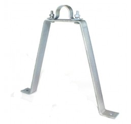 Doughty T33300 Pipe to Wall Bracket (300mm stand off)