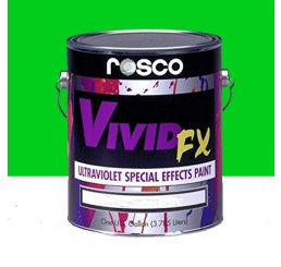 Rosco VividFX Electric Green Paint