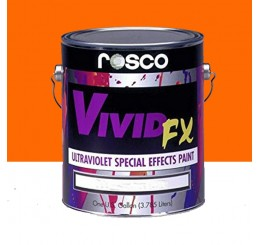 Rosco VividFX Orange Sunset Paint